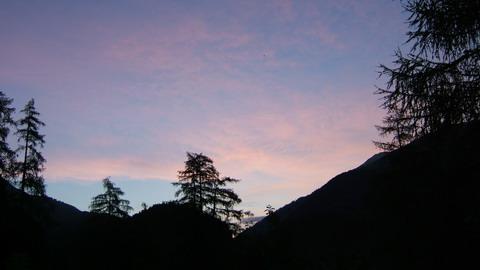 Morgenstimmung im Wallis