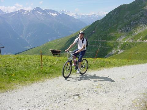 Biken auf 2100 Höhenmeter