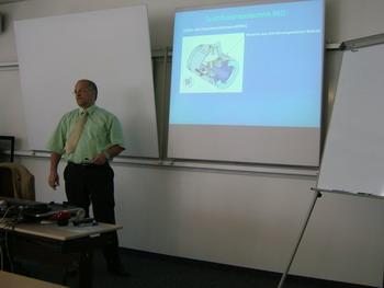 Christian Öcknick von der Firma Zimmerli Messtechnik AG